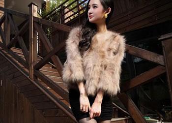 2013秋冬新款皮草外套:奢华大气时尚穿出来