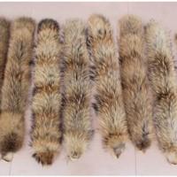 供应貉子狐狸毛条帽条鞋口