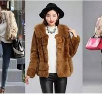 高调奢华皮草外套,这五种搭配助你打造出气场女王范
