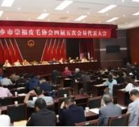 桐乡市崇福皮毛协会四届五次会员代表大会召开