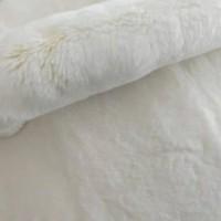 河北尚村獭兔毛皮草加工獭兔褥子定做批发皮草褥子兔毛服装内胆