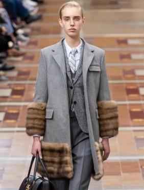 不看不知道,原来巴黎时装周才是真正的皮草发烧