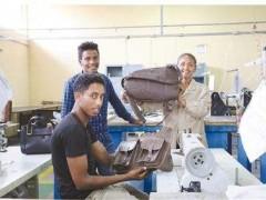 中国援建实验室助力埃塞皮革业发展