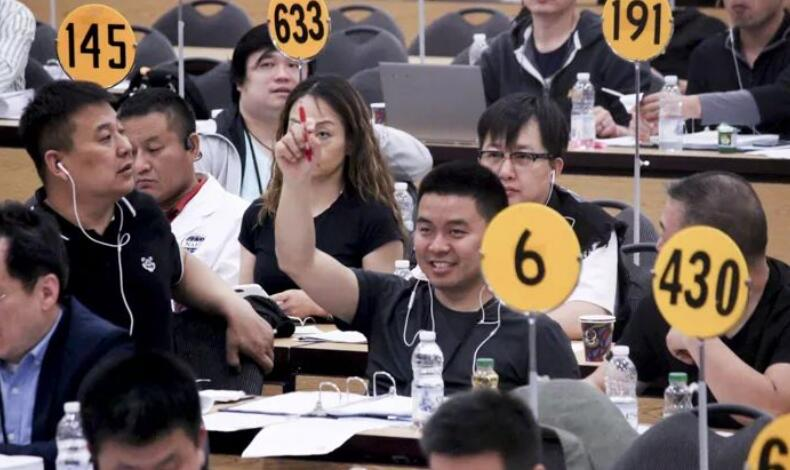 NAFA2019年5月/6月拍卖会水貂拍卖结束