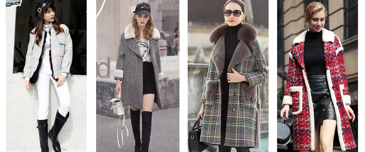 皮草与其它面料相结合的特殊款式,总能带来一些意外惊喜,使之成为既保暖又兼具时髦感的衣服。当粗纺毛呢遇见皮草,一股别样时尚的混搭风格迎面扑来,这份由经典情怀带来的