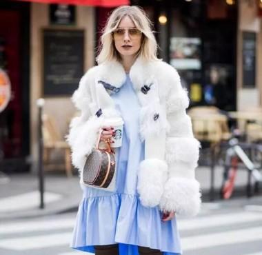 秋冬皮草外套在手,保暖时髦不掉线