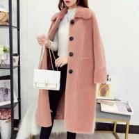 羊绒颗粒女装外套