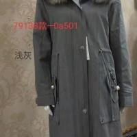 2019女款派克服/内胆兔毛/进口毛领/蚕丝面料