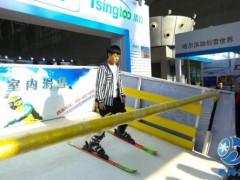 冰雪运动体验和服装服饰这里都有 哈尔滨寒博会开幕