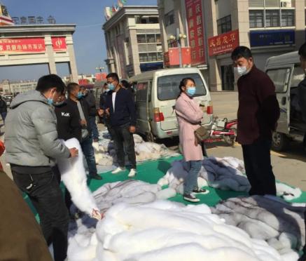尚村京南市场成交略有增多(2020.4.21)