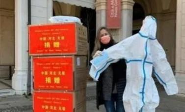 """意大利一市长致信感谢河北无极""""雪中""""送防疫物资"""