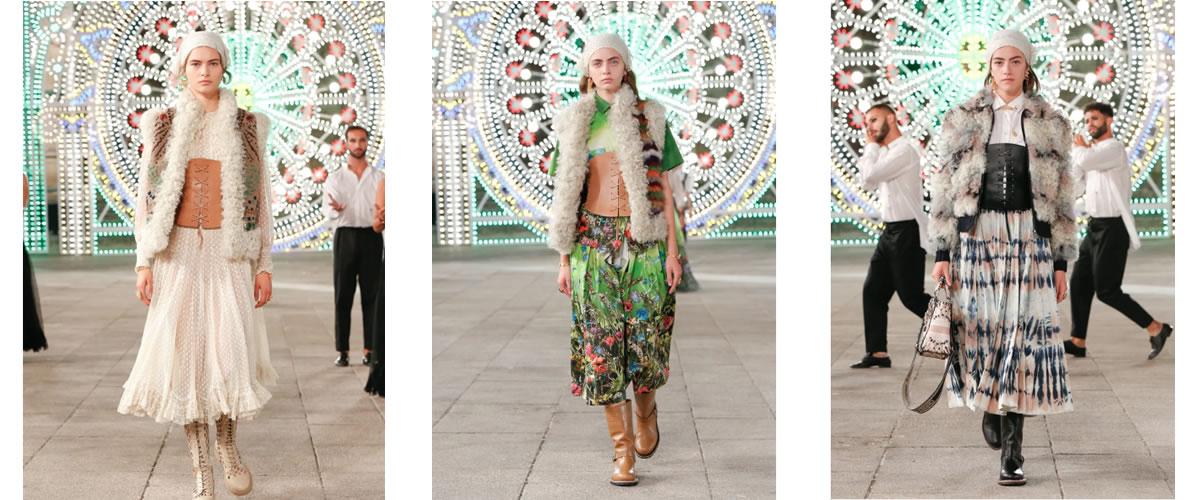 皮草与手工艺:Dior疫情后2021度假系列