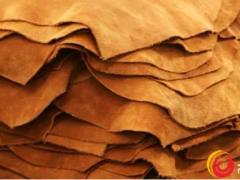 近5年来,原料皮价格大幅下跌了60%至70%