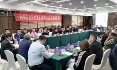 中国畜牧业协会毛皮动物分会召开2020年度产业发展座谈会