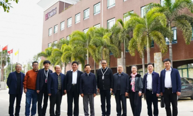 中国轻工业联合会会长张崇和一行到天创时尚集团参观调研