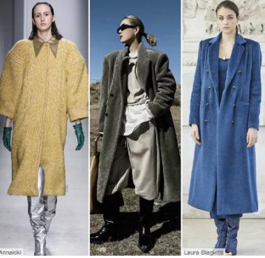 温暖实用的皮草大衣--女装皮草廓形趋势