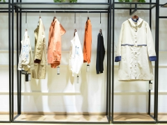 华丹尼专柜撤柜剪标服装走份 广州品牌折扣女装供应货源