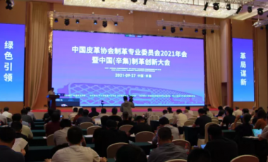 绿色引领 革局谋新--中国皮革协会制革专业委员会2021年会暨中国(辛集)制革创新大会召开